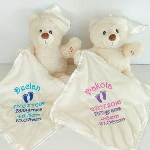 Light Up Lullaby Bears