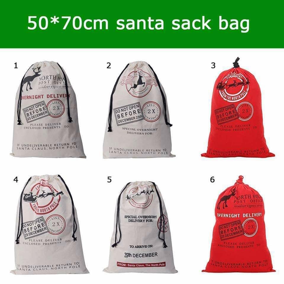 Santa Sacks and Stockings